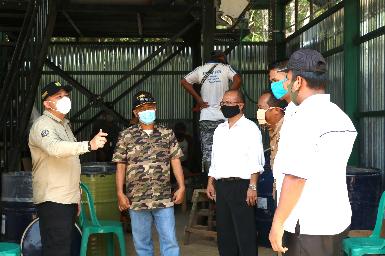 Muba Pertama di Indonesia Menggunakan Mesin Sentrifuge Bagi Petani Karet