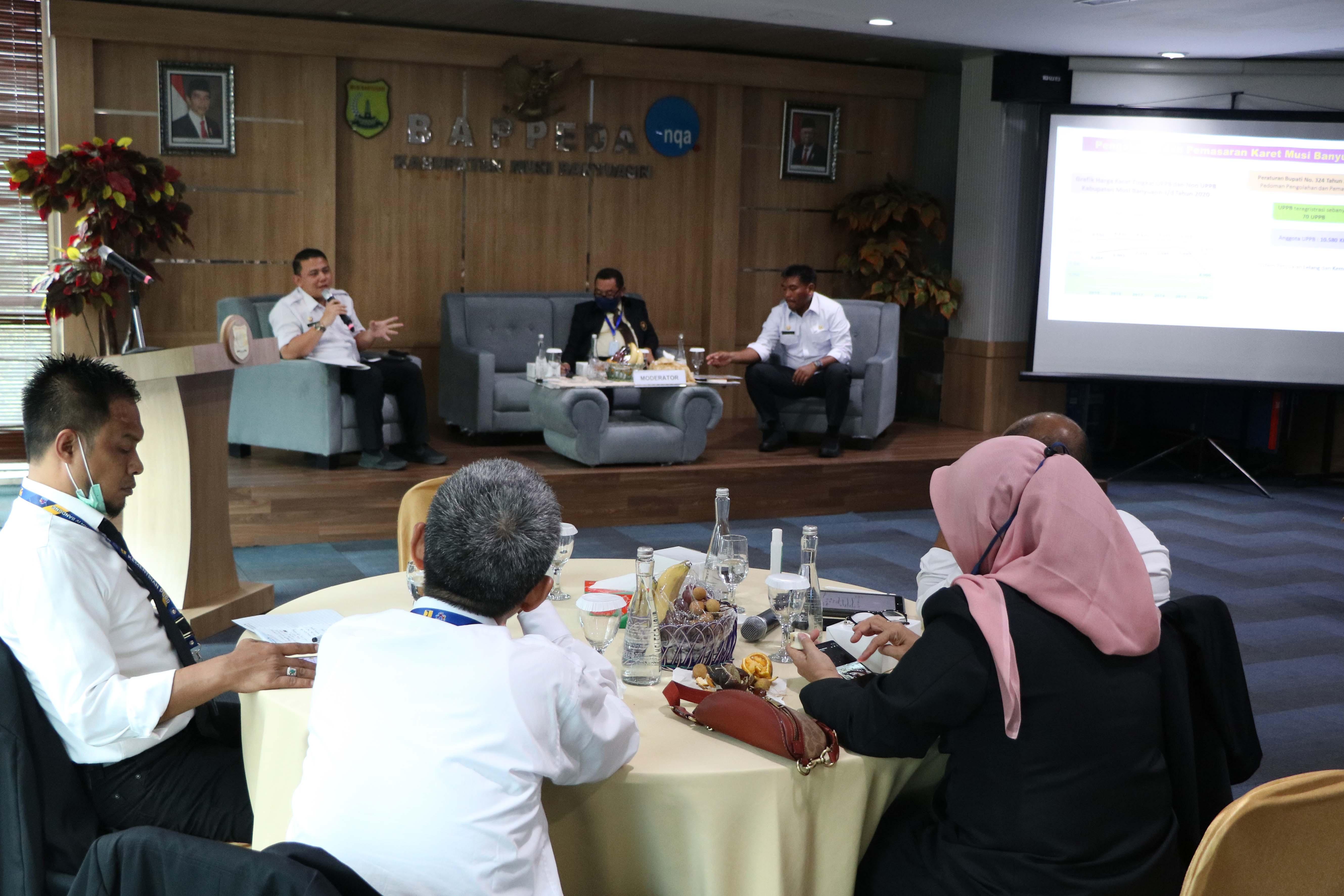Visitasi Kepemimpinan Nasional, Ibir Paparkan Inovasi Aspal Karet Dan IVO (Industrial Vegetable Oil)