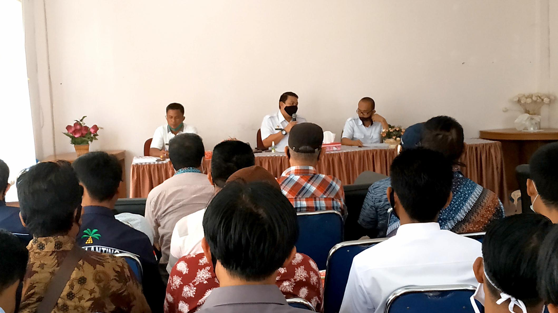 Inventarisir Laporan Petani, Percepat upaya pembangun sapras PSR Muba